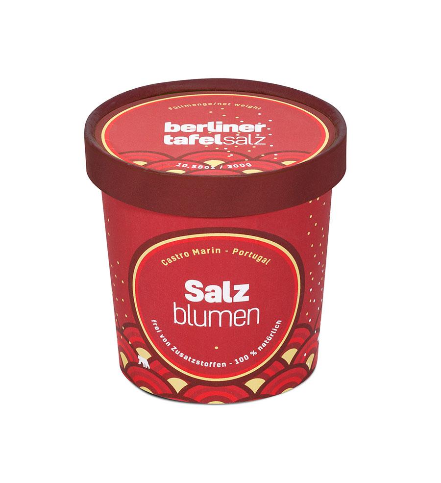Salzblumen Becher berliner tafel salz
